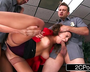 Bitchy boss ashley adams receives the fucking this babe so richly merits