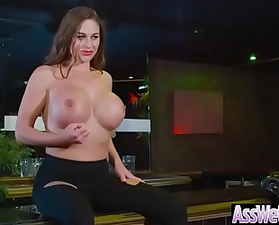 Anal hardcore sex with hawt doxy large gazoo oiled white women (cathy heaven) video-20