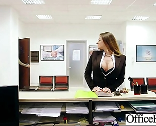 (cathy heaven) breasty office whore lustful white women gangbanged clip-11