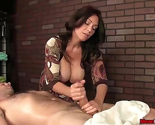 Sexy big-titted slutty wife wang treatment