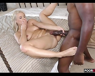 Sexy horny white wife anikka albrite receives drilled by bbc during the time that cuckold watchingwatching