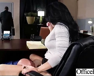 Hard sex act in office with large round melons hawt white wife (jayden jaymes) vid-13