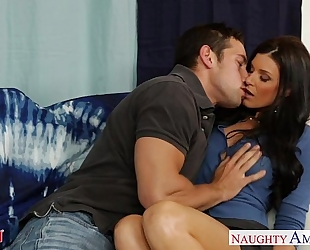 Hot mommy india summer acquires muff screwed and nailed