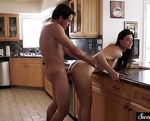 Amazing milf pounded by her lewd stepson