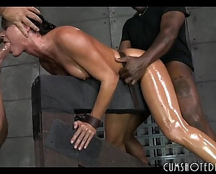 Hot fastened up whore destroyed