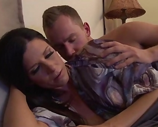 Upset mother calmed by stepson - greater amount movies on www.amateurcams.cf