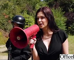 Lovely worker doxy slutwife (aletta ocean) with round large love muffins group-sex in office clip-01