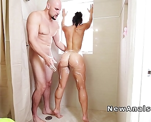 Big gazoo playgirl anal team-fucked untill facial