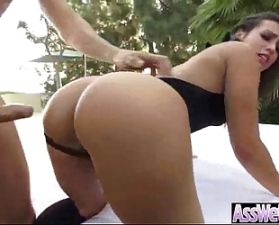 Big booty cheating wife (kelsi monroe) receive oiled and hard anal nailed on camera movie-13
