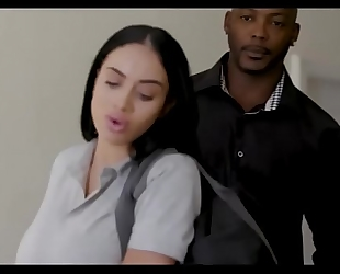 Victoria crack me up interracial fuck
