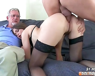 Riley is a cuckold wench!
