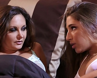 Abella danger and ava addams at mommy's white bitch