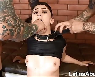(new) mandy muse returns to acquire throated, a-hole drilled and dpd