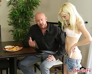Babysitter piper perri pussyfucked from behind