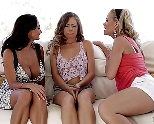 Kendall, ava addams and simone sonay at mommy's horny white wife