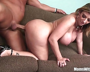 Milf blond sarah jay soft huge breasts drilled