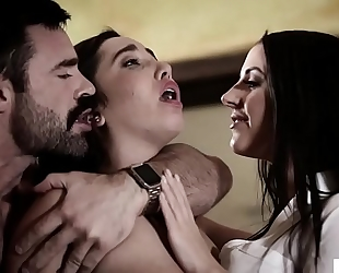 Stepdad and daughter go to a psychologist - angela white and karlee grey - pure taboo