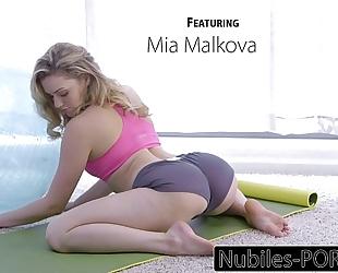 Nubiles-porn mia malkovas yoga fuck - full clip