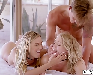 Vixen mia malkova and natalia starr share a biggest schlong!!