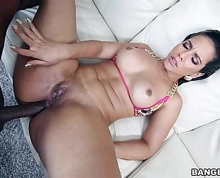 Rose monroe great anal interracial 8