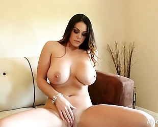 Alison tyler plays with her cookie
