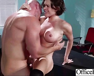Sex in office with large melon juggs naughty slutwife (krissy lynn) movie-22
