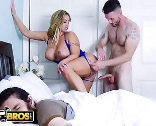 Bangbros - milf eva notty acquires drilled whilst boyfriend sleeps