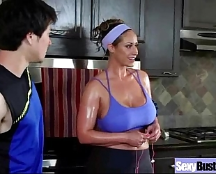 (eva notty) excited breasty housewife in hard style team fuck on web camera mov-11