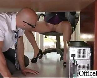 Busty office hotwife (lela star) gangbang hard style at work clip-21